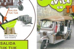 Ávila en tuktuk