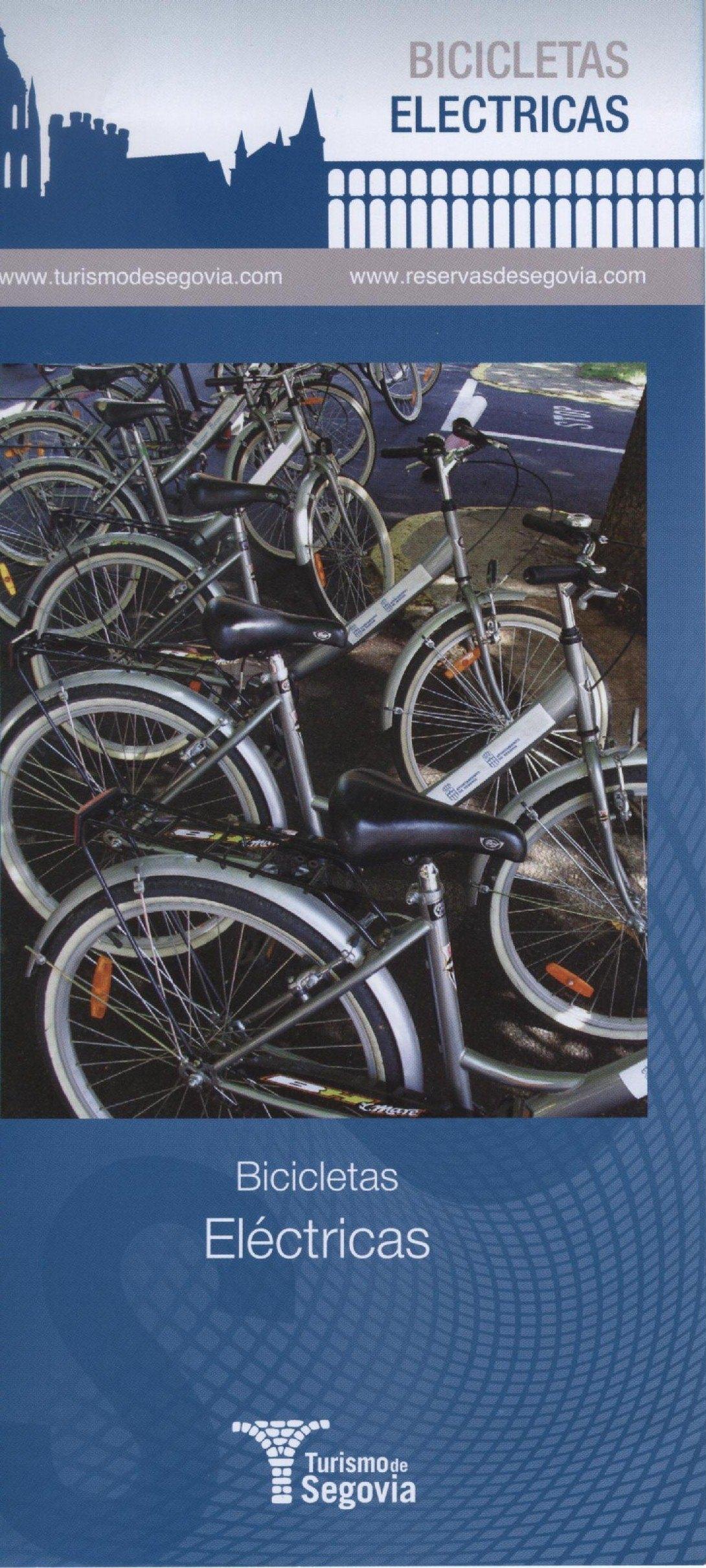 Folleto Bicicletas Eléctricas de Segovia