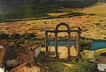Templo en su ubicación original en Talavera la Vieja - antes de 1963