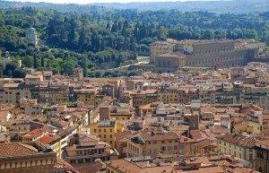 El Palazzo Pitti y los Jardines de Bóboli