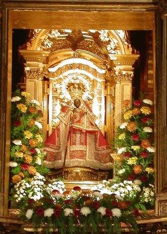 Imagen de la Virgen