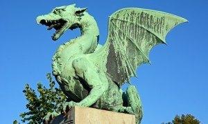 Liubliana. Dragón