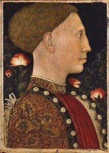 Leonello d'Este por Pisanello