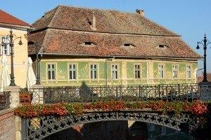 Portada Sibiu. Plaza Pequeña. Puente