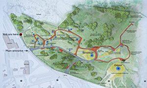 Plano del Parque Nacional Geysir