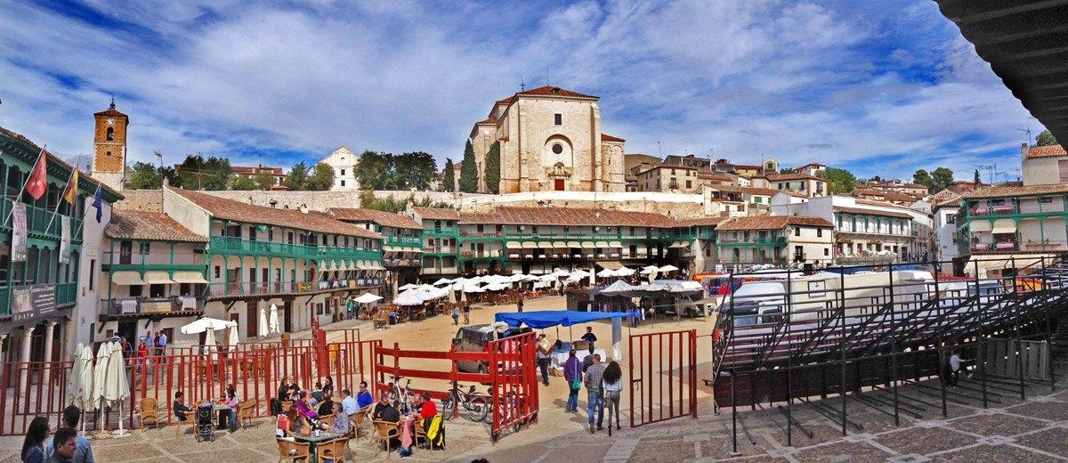 Chinch n turismo visita con carlos de viaje carlos de for Oficina de turismo de chinchon
